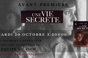Concours / Gagnez des places pour l'avant-première « Une vie secrète » au Gaumont Convention 1 image