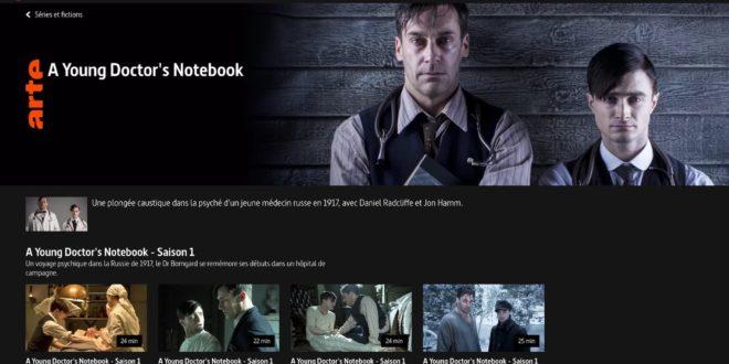 A Young Doctor's Notebook saisons 1 et 2 sur Artetv image série télé