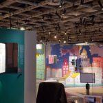 Exposition Contraires à la Cité des sciences et de l'industrie photo La rue des mini-géants
