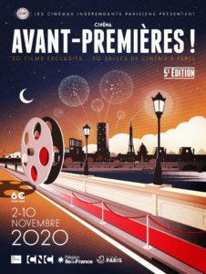 Festival Avant-premières ! 2020 affiche cinéma