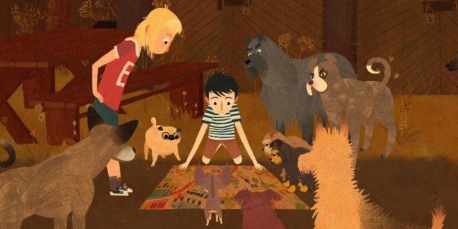 Jacob et les chiens qui parlent d'Edmunds Jansons image film d'animation cinéma