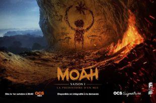 Moah saison 1 affiche série télé
