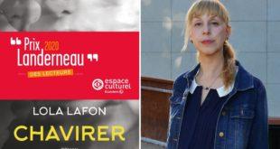 Prix Landerneau des Lecteurs 2020 pour Chavirer de Lola Lafon visuel littérature