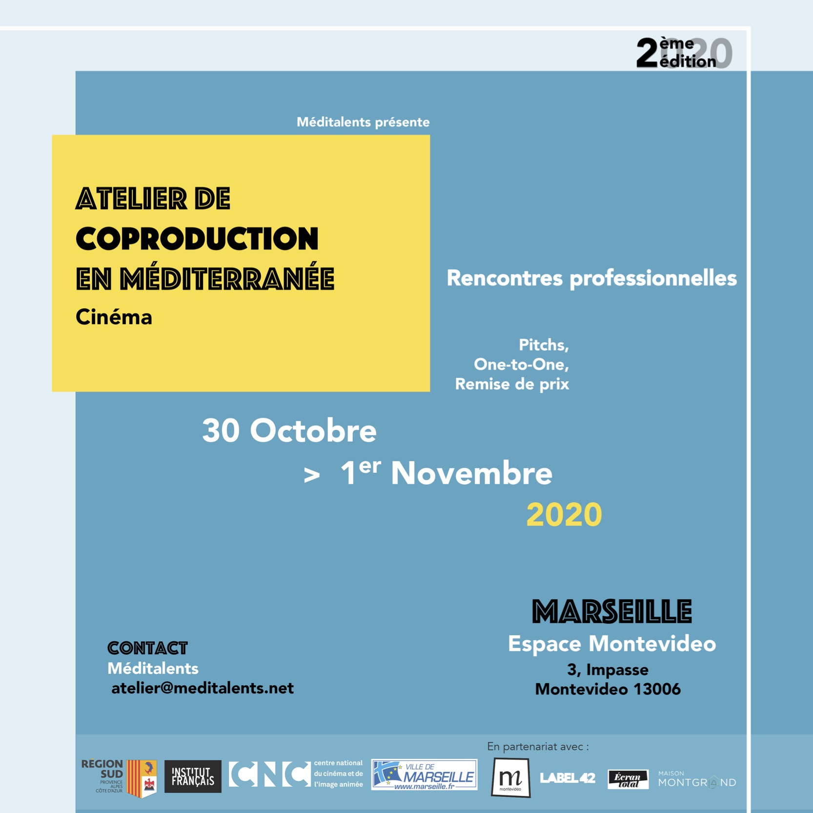 VISUEL ATELIER COPRODUCTION EN MEDITERRANEE - - copie