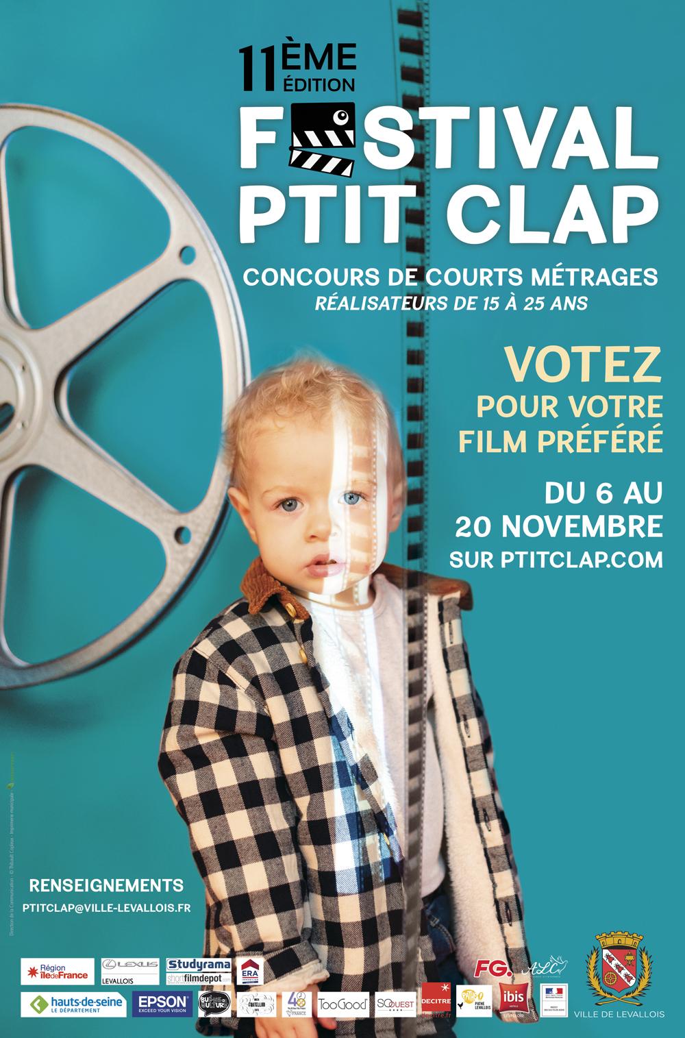 Affiche Festival P'tit Clap 2020