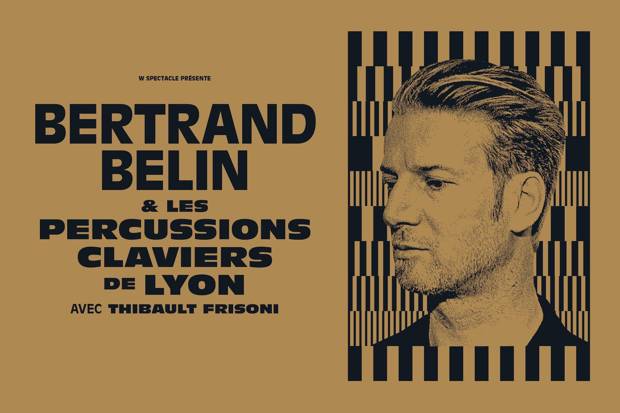 Bertrand Belin, Les Percussions Claviers de Lyon et Thibault Frisoni affiche musique