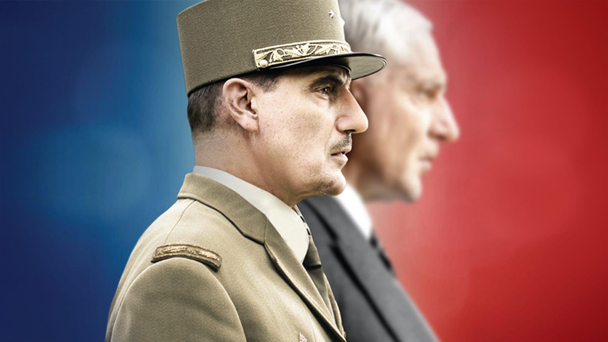 De Gaulle, l'éclat et le secret visuel série télé