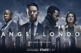 Gangs of London saison 1 affiche STARZPLAY série télé