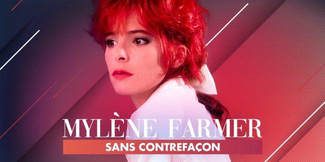 Mylène Farmer, sans contrefaçon affiche musique