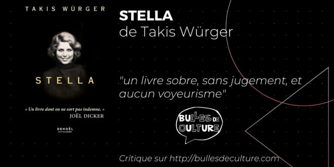 Stella Takis Würger avis livre critique