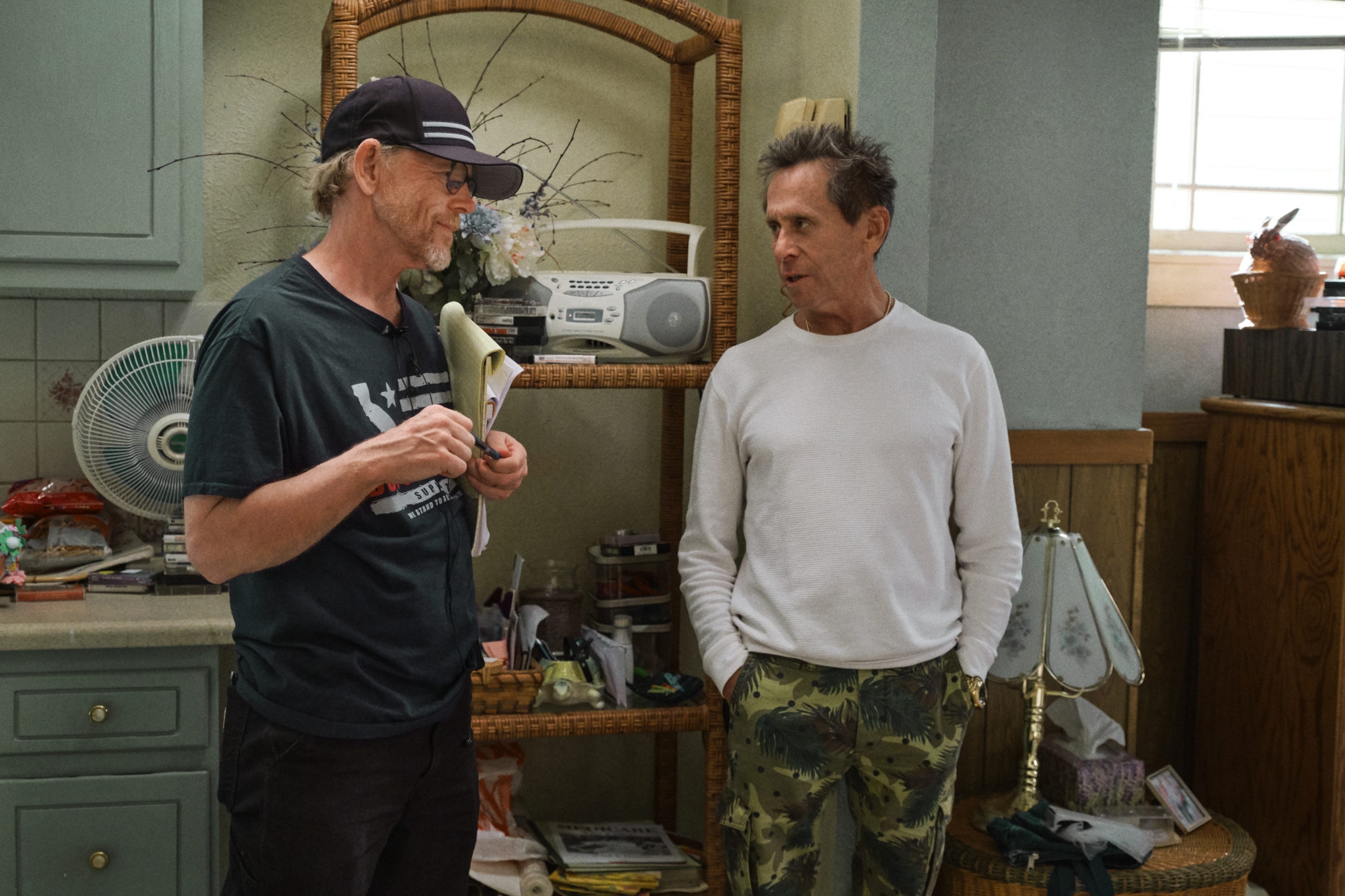 HILLBILLY ELEGY/ Une Ode américaine (2020) Director Ron Howard and Producer Brian Grazer on the set of Hillbilly Elegy.
