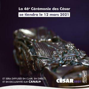 Capture d'écran Twitter Académie des César visuel cinéma