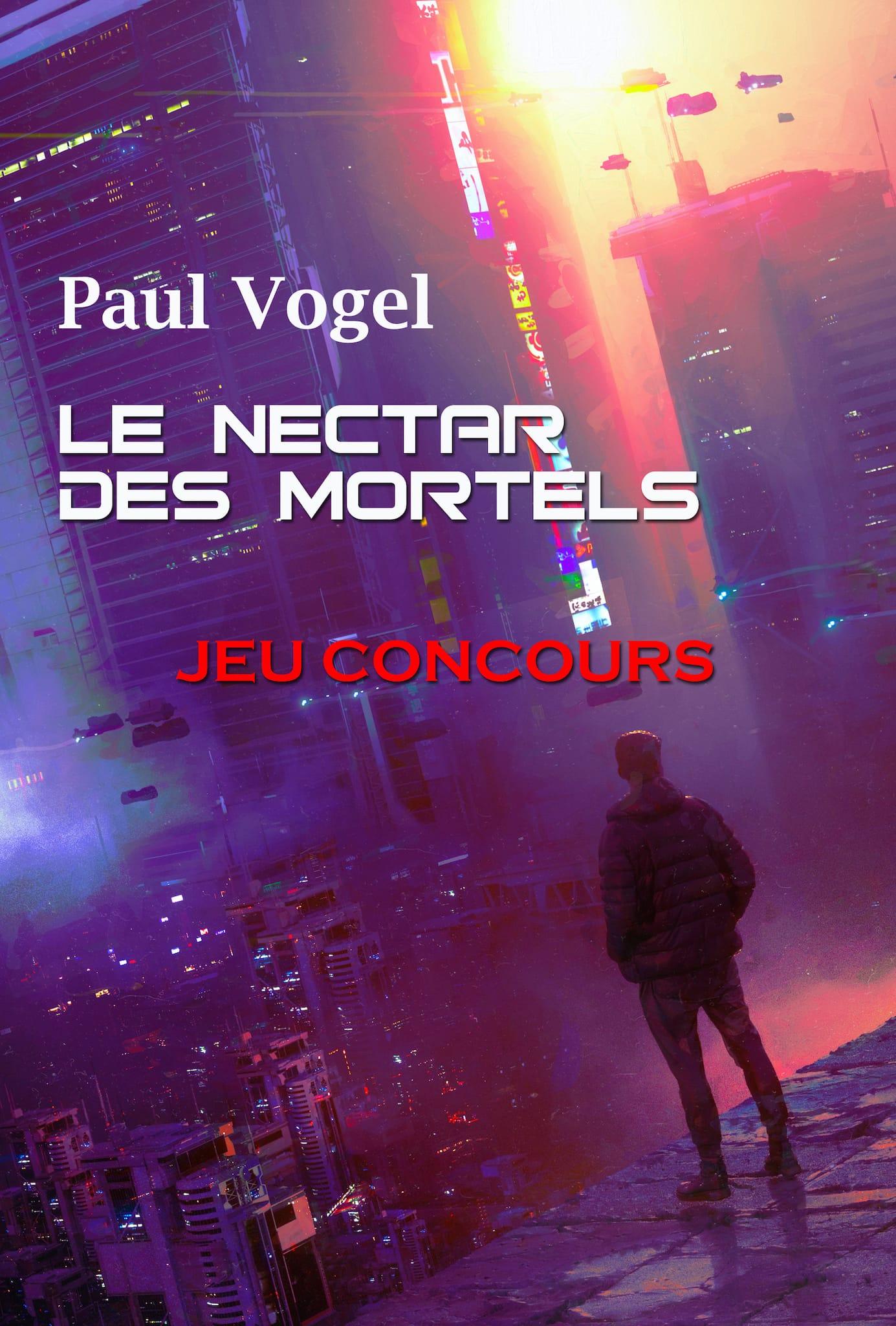 Concours Le Nectar des Mortels visuel livre