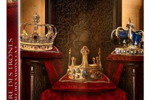 La guerre des trônes saison 1, 2 et 3 image coffret DVD série documentaire