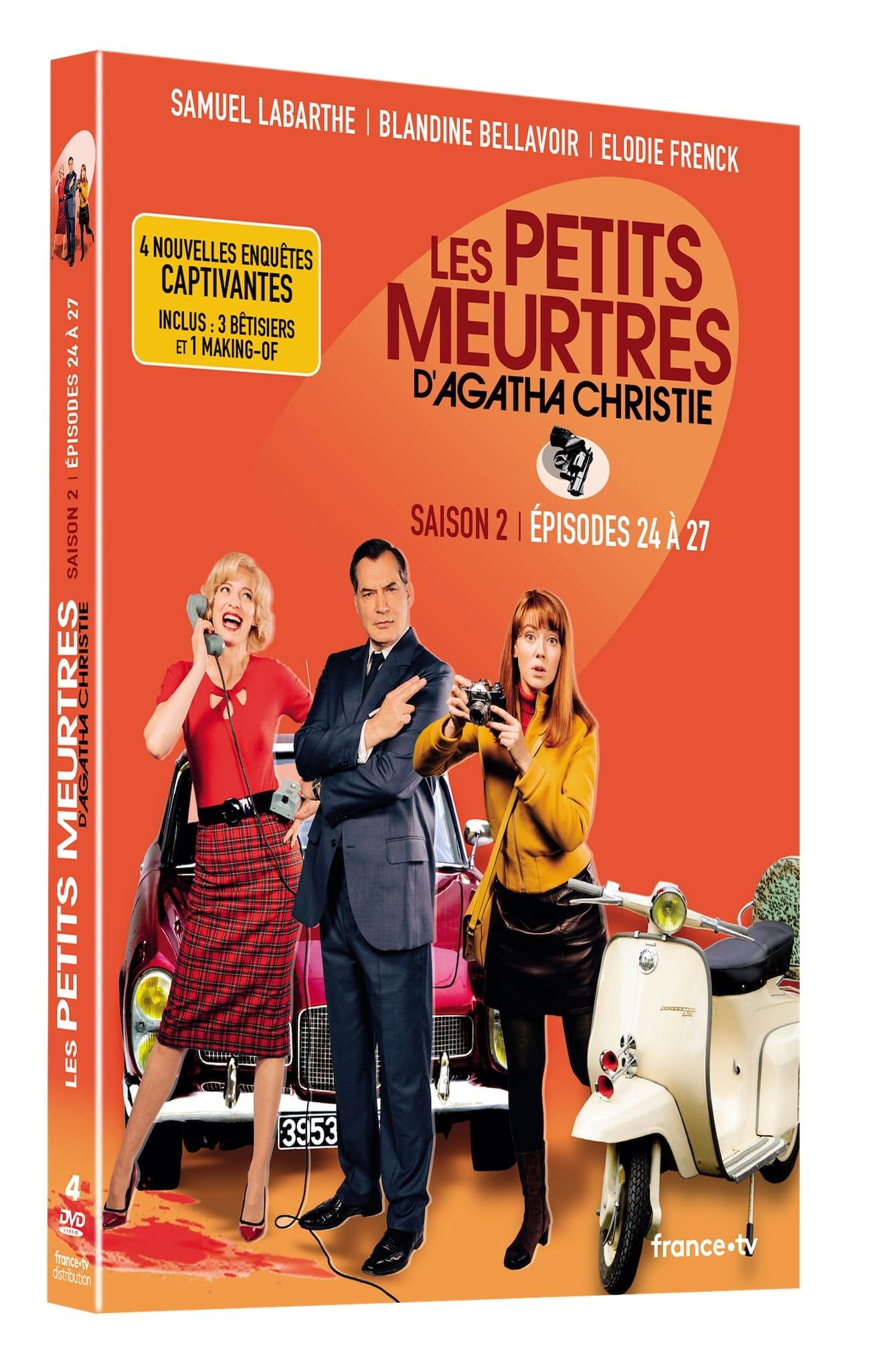 Les Petits Meurtres d'Agatha Christie épisodes 24 à 24 image DVD série téél