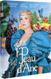 Peau d'âne de Jacques Demy visuel dvd film cinéma