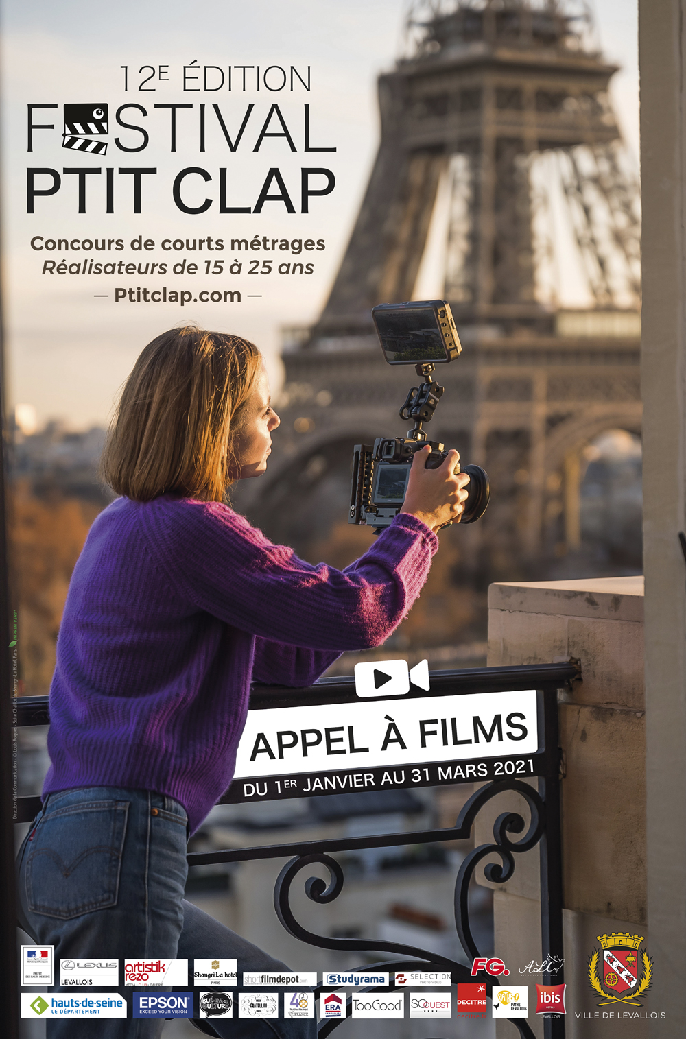 Affiche Festival Ptit Clap 2021