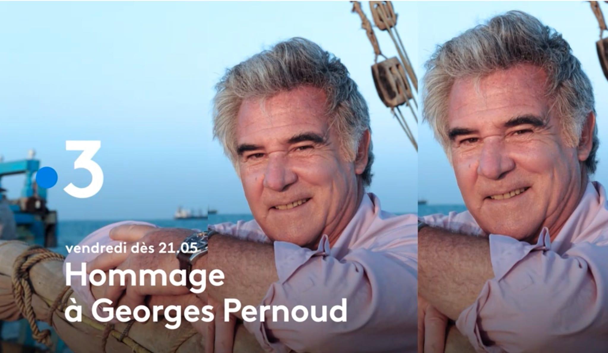 Capture d'écran soirée Hommage à Georges Pernoud France 3