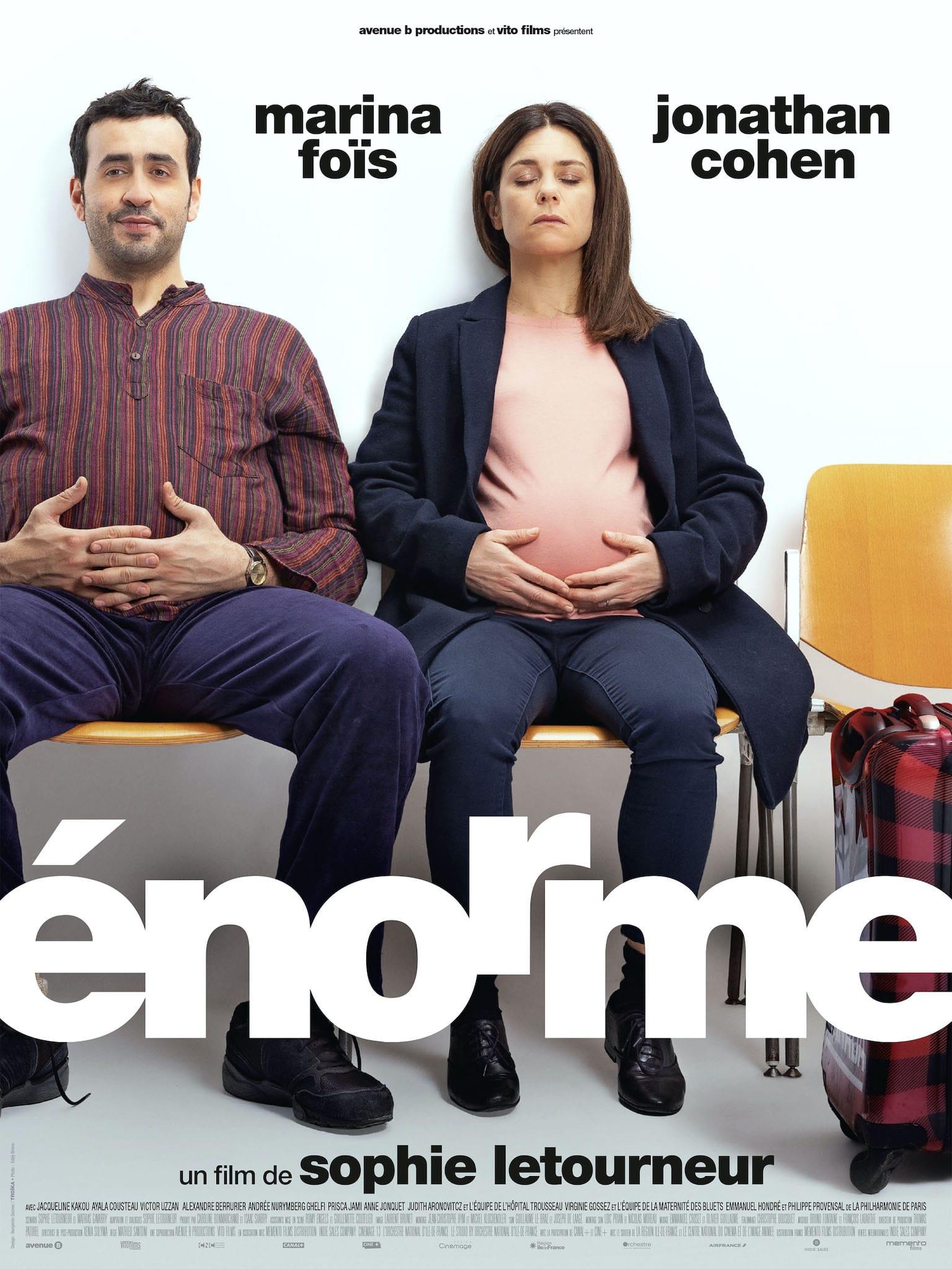 Énorme de Sophie Letourneur affiche film cinéma