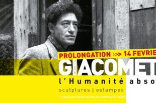 Exposition « Alberto Giacometti – l'Humanité absolue » à La Cité Miroir de Liège affiche prolongations