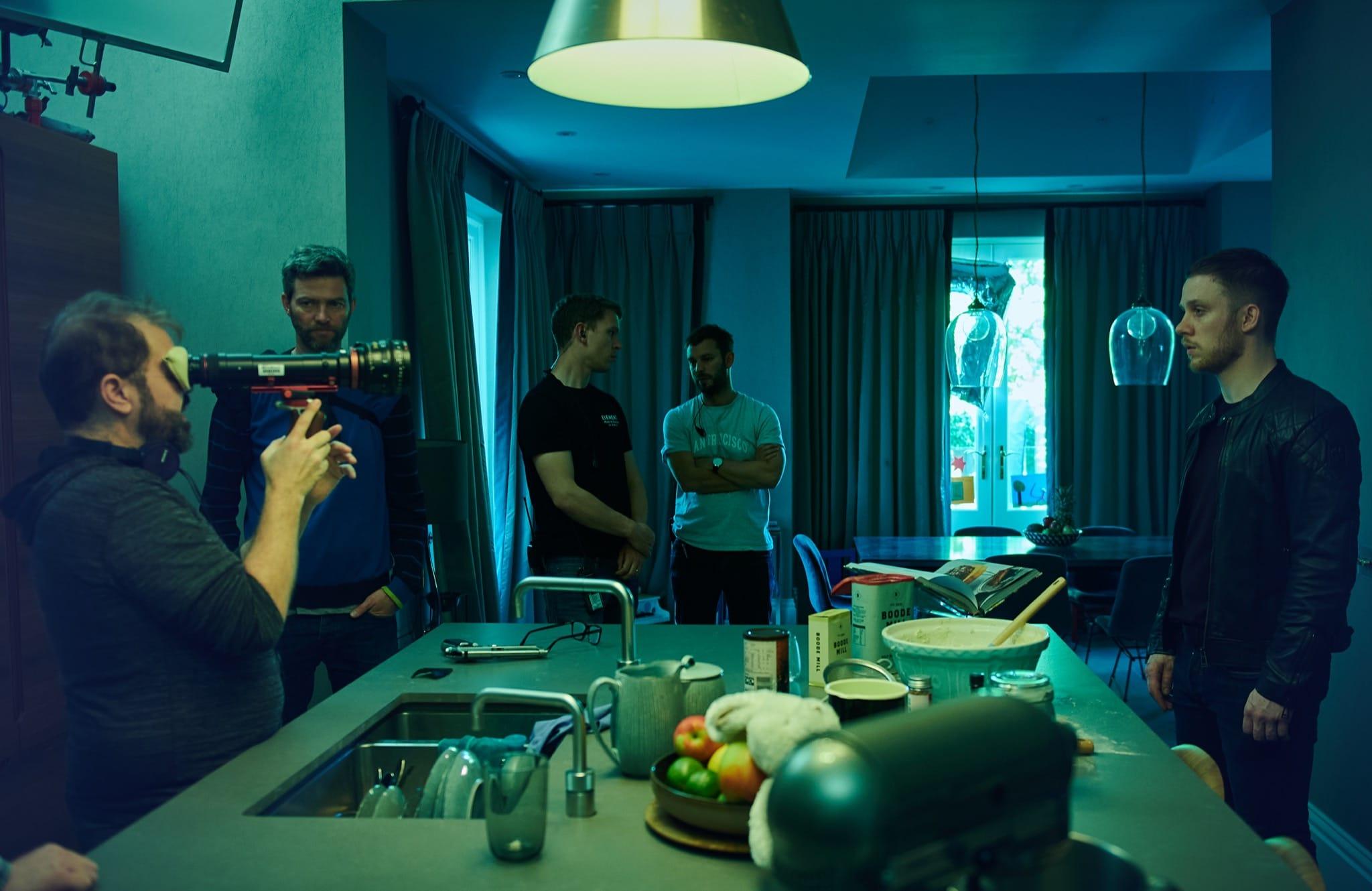 Gangs of London saison 1 image tournage série télé