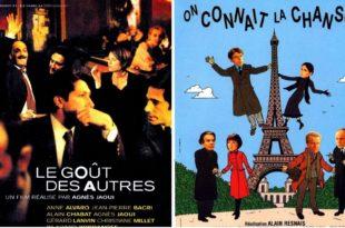 Le goût des autres et On connaît la chanson avec Jean-Pierre Bacri affiches films cinéma