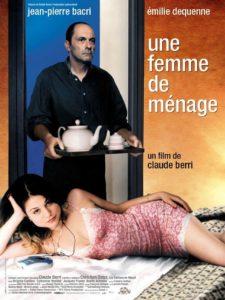 Une femme de ménage de Claude Berri affiche film cinéma