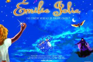 EMILIE JOLIE - Une comédie musicale de Philippe CHATEL affiche spectacle