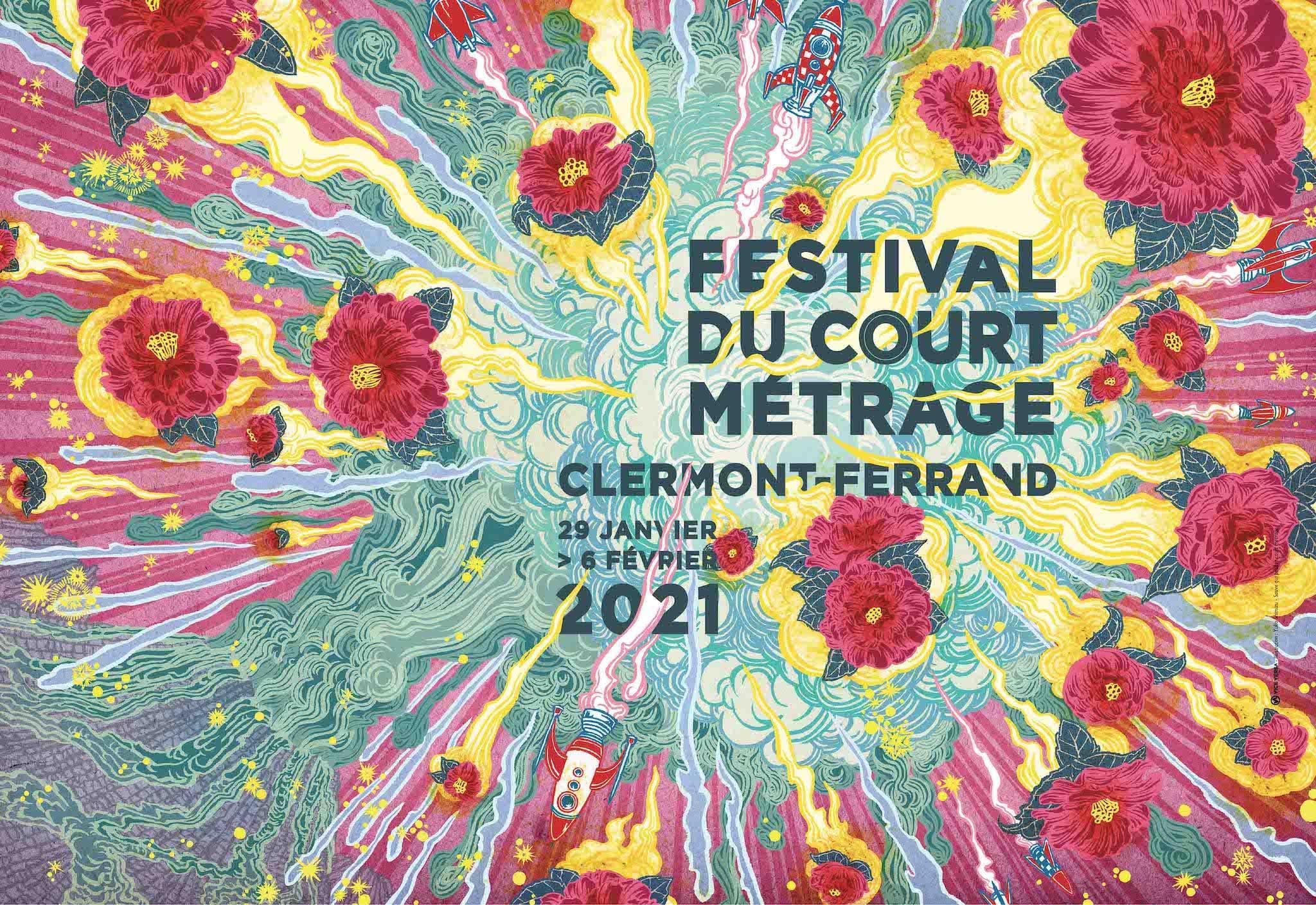 Festival du Court Métrage de Clermont-Ferrand 2021 affiche cinéma