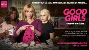 Good Girls saison 2 affiche Téva série télé