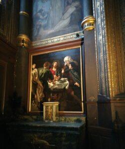 Le Guide des visites d'église tableau rubens