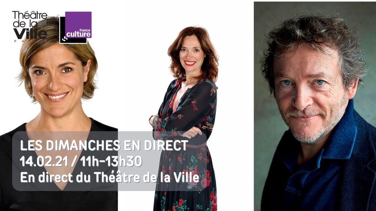Les dimanches en direct du Théâtre de la Ville et sur France Culture capture d'écran radio série télé