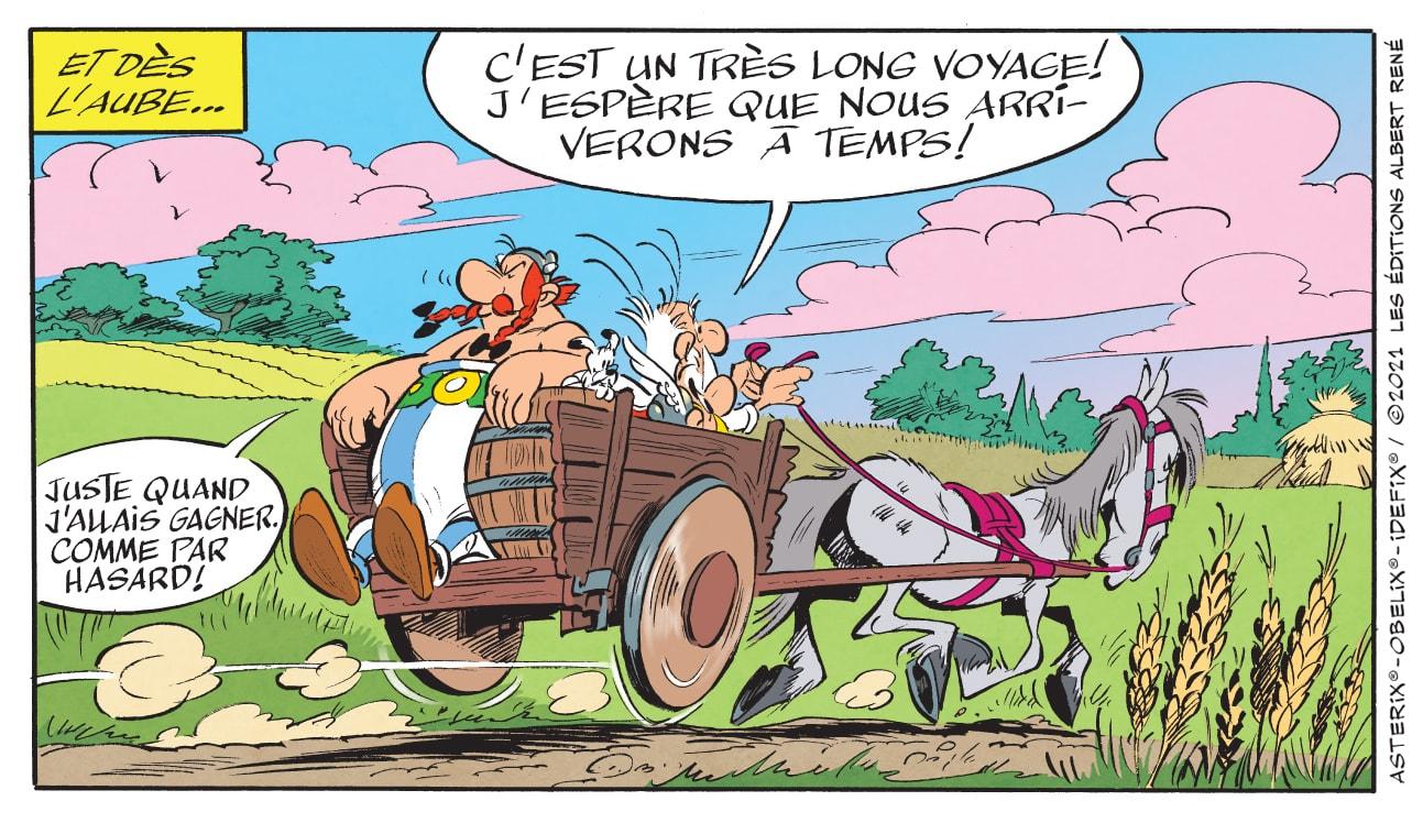 Astérix et le Griffon bande dessinée
