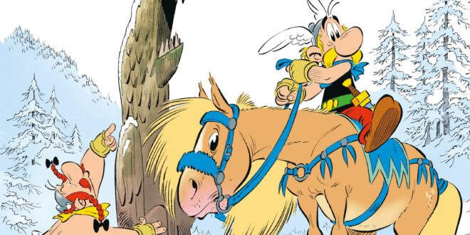 Astérix et le Griffon de Jean-Yves Ferri et Didier Conrad - Couverture bd