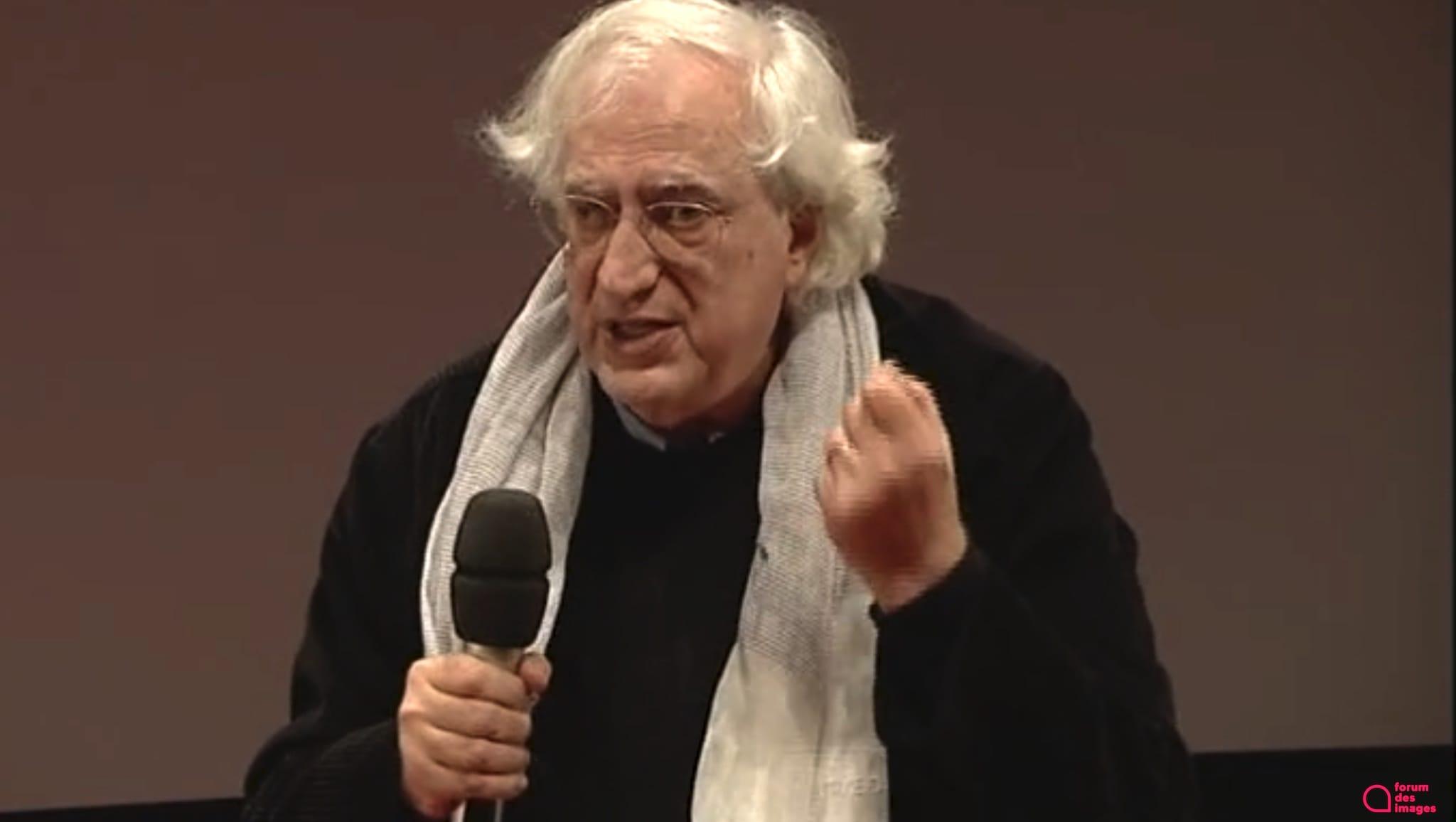 Capture d'écran La Master class de Bertrand Tavernier au Forum des images visuel cinéma