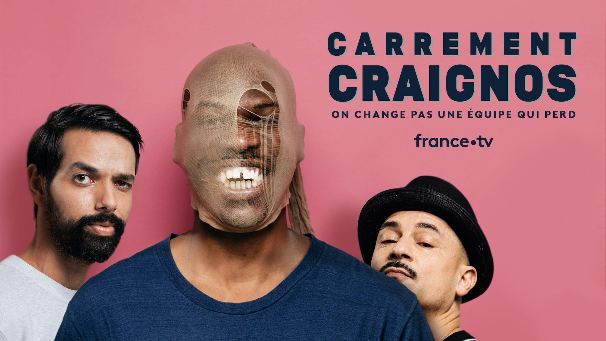 CARREMENT CRAIGNOS de Jean-Pascal Zadi affiche série