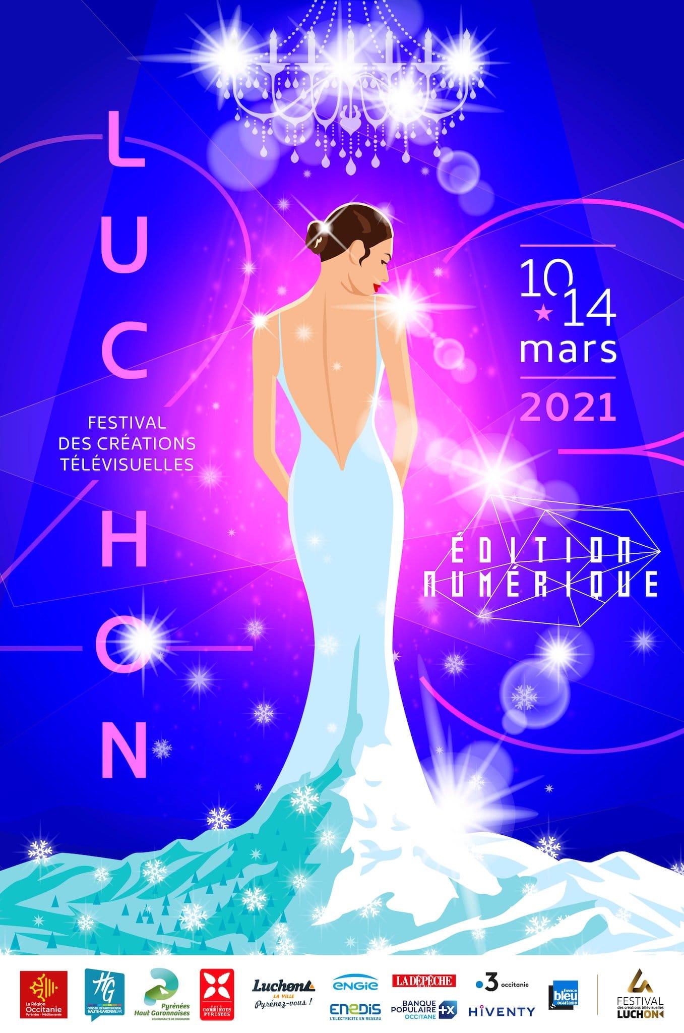 Festival de Luchon 2021 affiche télévision