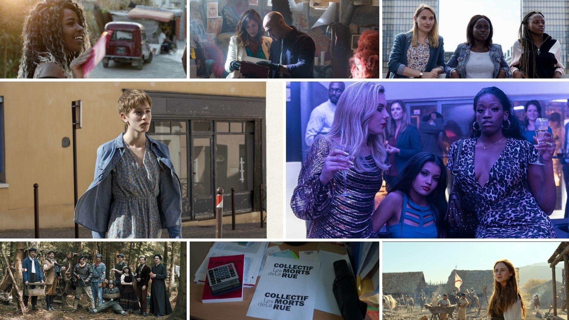 Festival de Luchon 2021 images palmarès téléfilms, série, documentaires, websérie