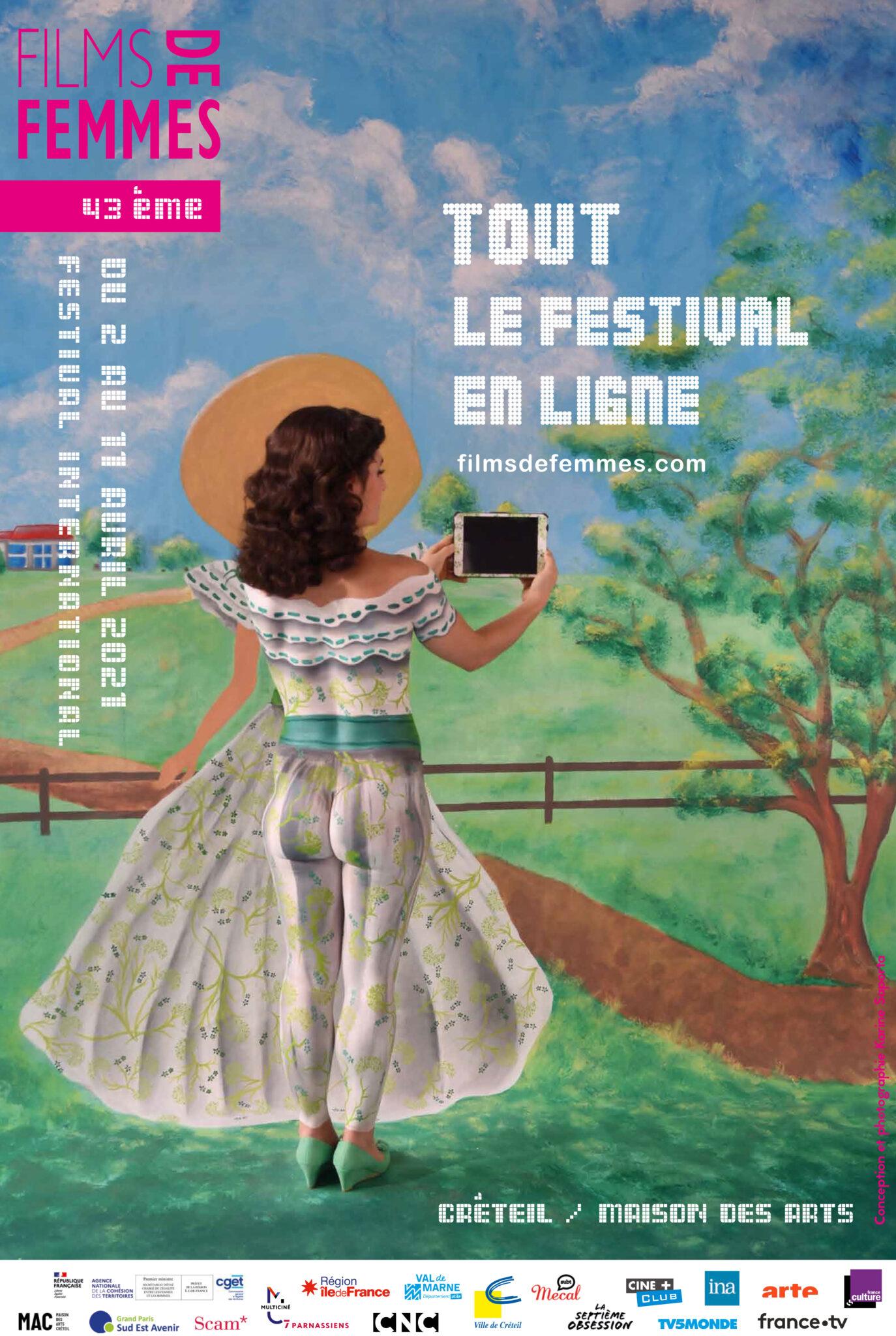 Festival du Film international de Femmes 2021 Affiche