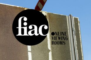 FIAC Online Viewing Rooms 2021 affiche manifestion d'art contemporain, d'art moderne et de design