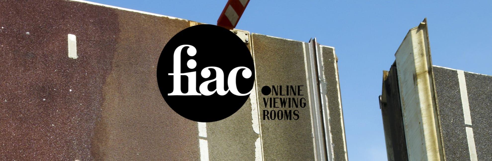 FIAC Online Viewing Rooms 2021 affiche manifestion d'art contemporain, d'art moderne et de design