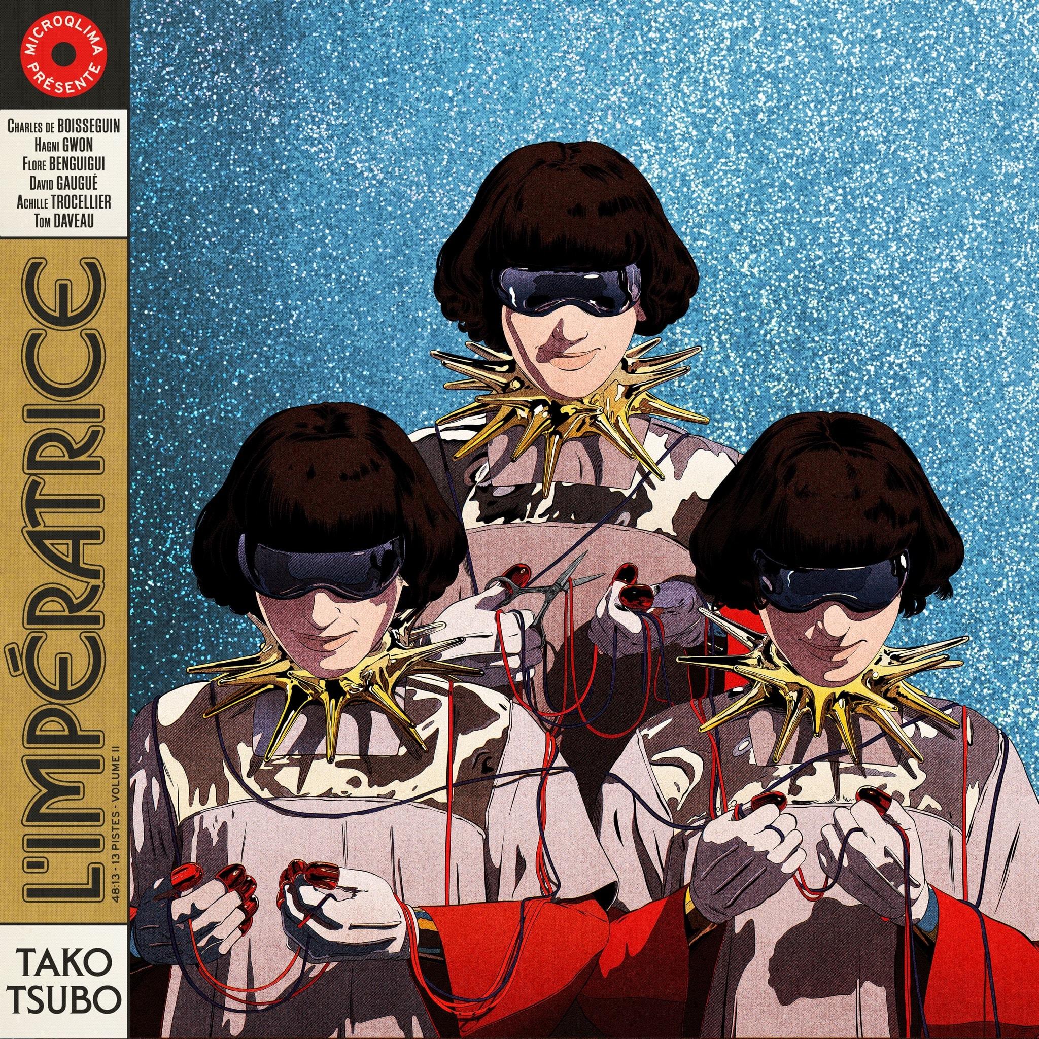 L'IMPÉRATRICE album Tako Tsubo visuel pochette musique