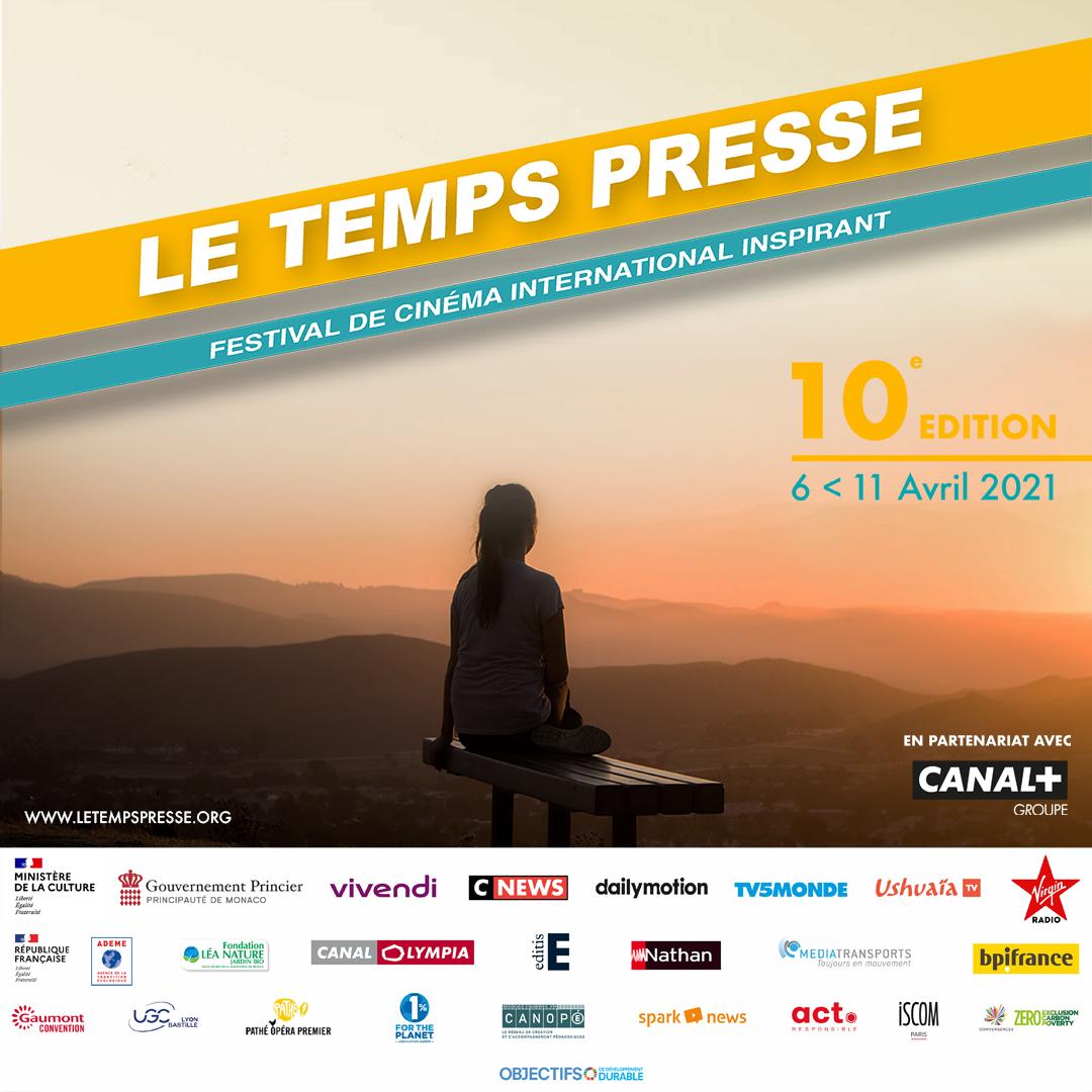 Festival le temps presse 2021 affiche