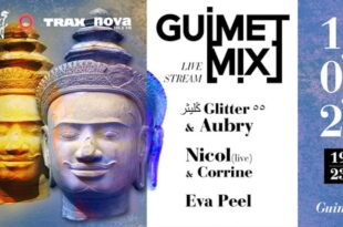Guimet [Mix] Live avec Glitter, Aubry, Nicol, Corrine et Eva Peel affiche musique