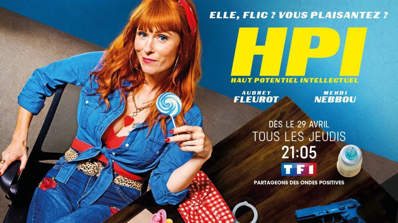 HPI saison 1 affiche série télé