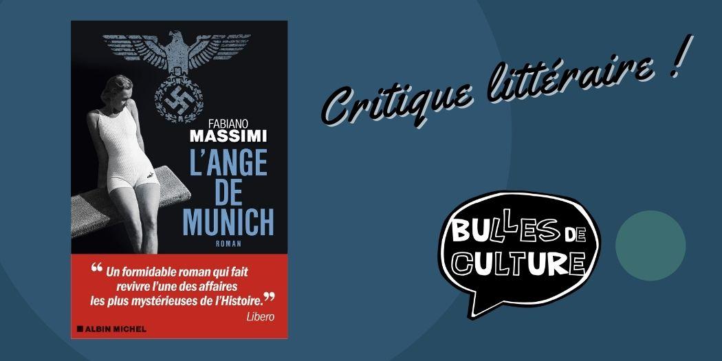 L'ange de Munich critique avis livre