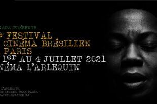 Festival de Cinéma Brésilien de Paris 2021 affiche cinéma