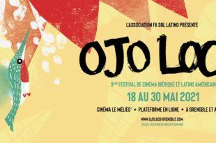 Festival Ojoloco 2021 affiche festival de cinéma ibérique et latino-américain