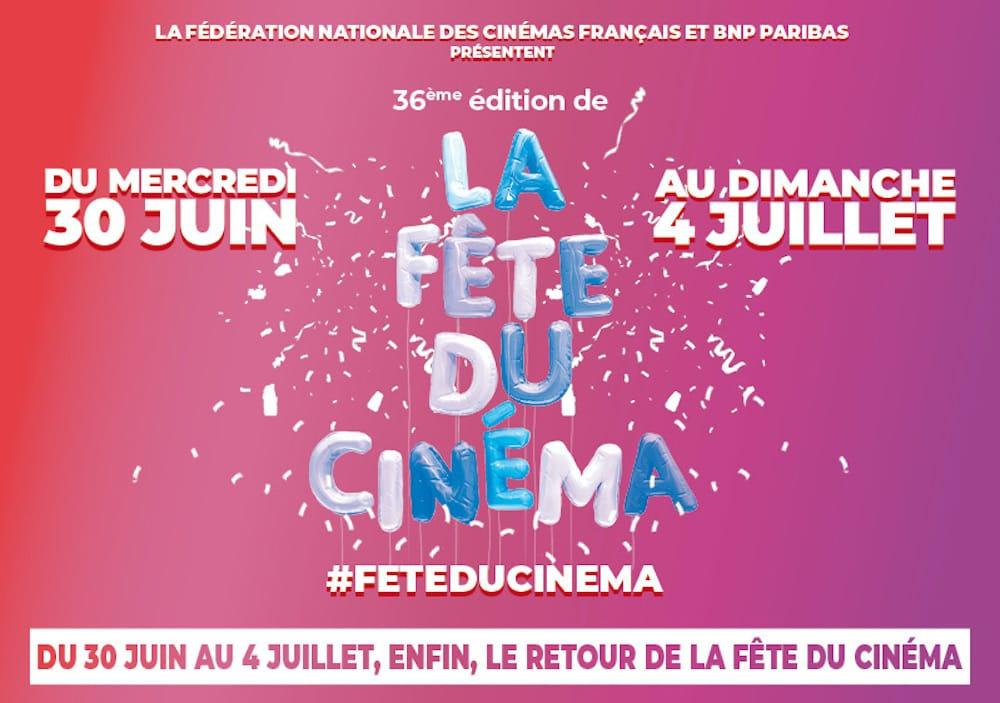 Fête du Cinéma 2021 affiche #feteducinema