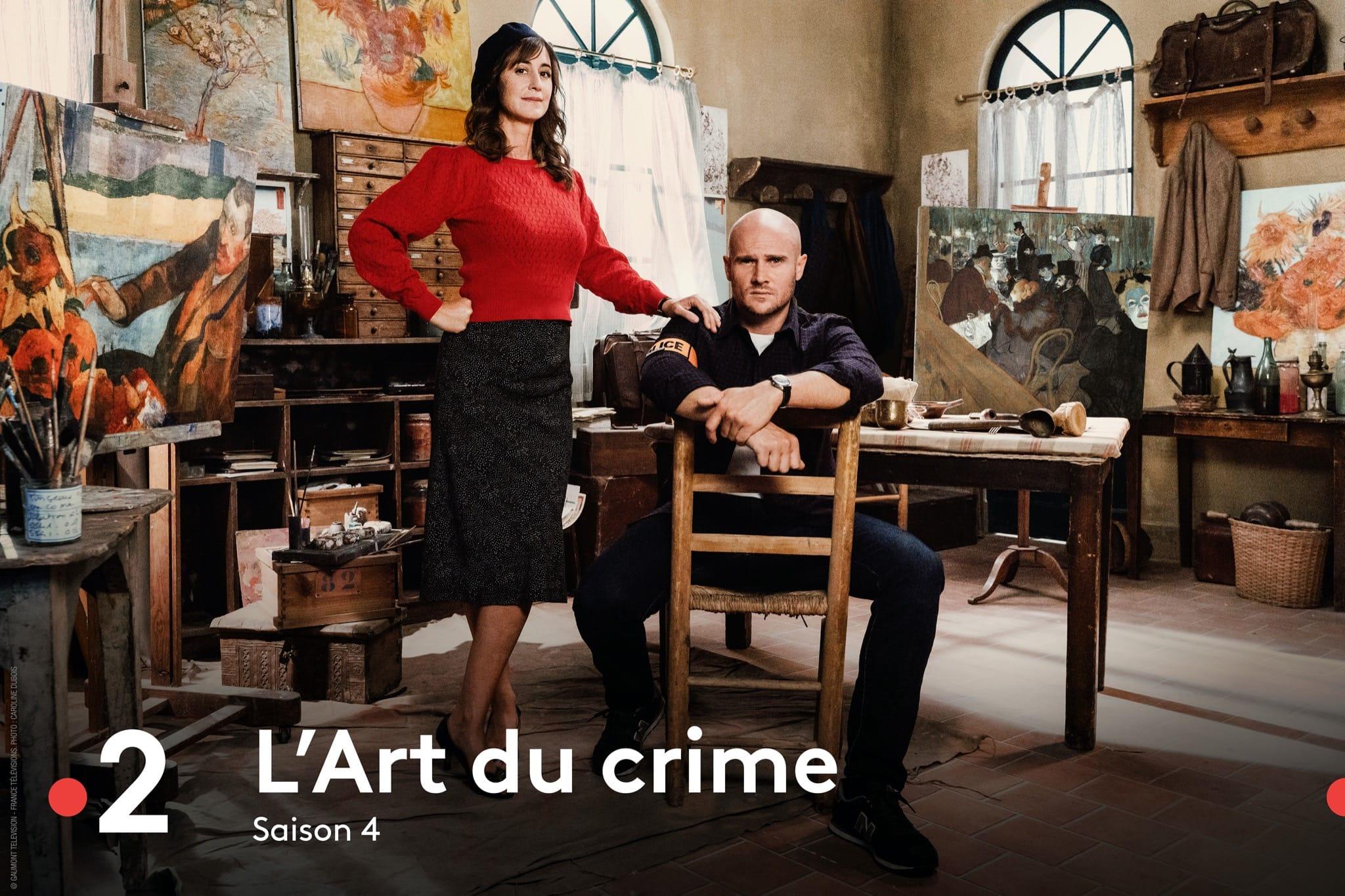 L'Art du crime saison 4 affiche série télé
